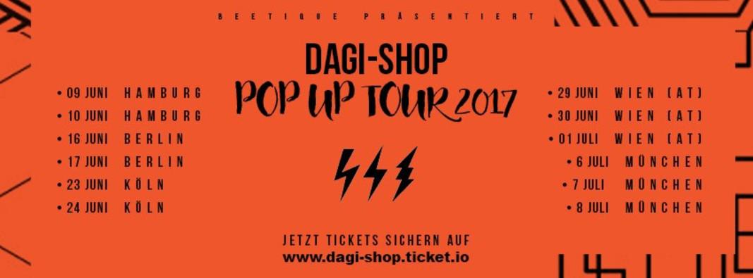 Hamburg 09062017 Dagi Shop Pop Up Tour Karten Und Infos