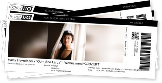 Tickets Fr Haley Heynderickx Oom Sha La